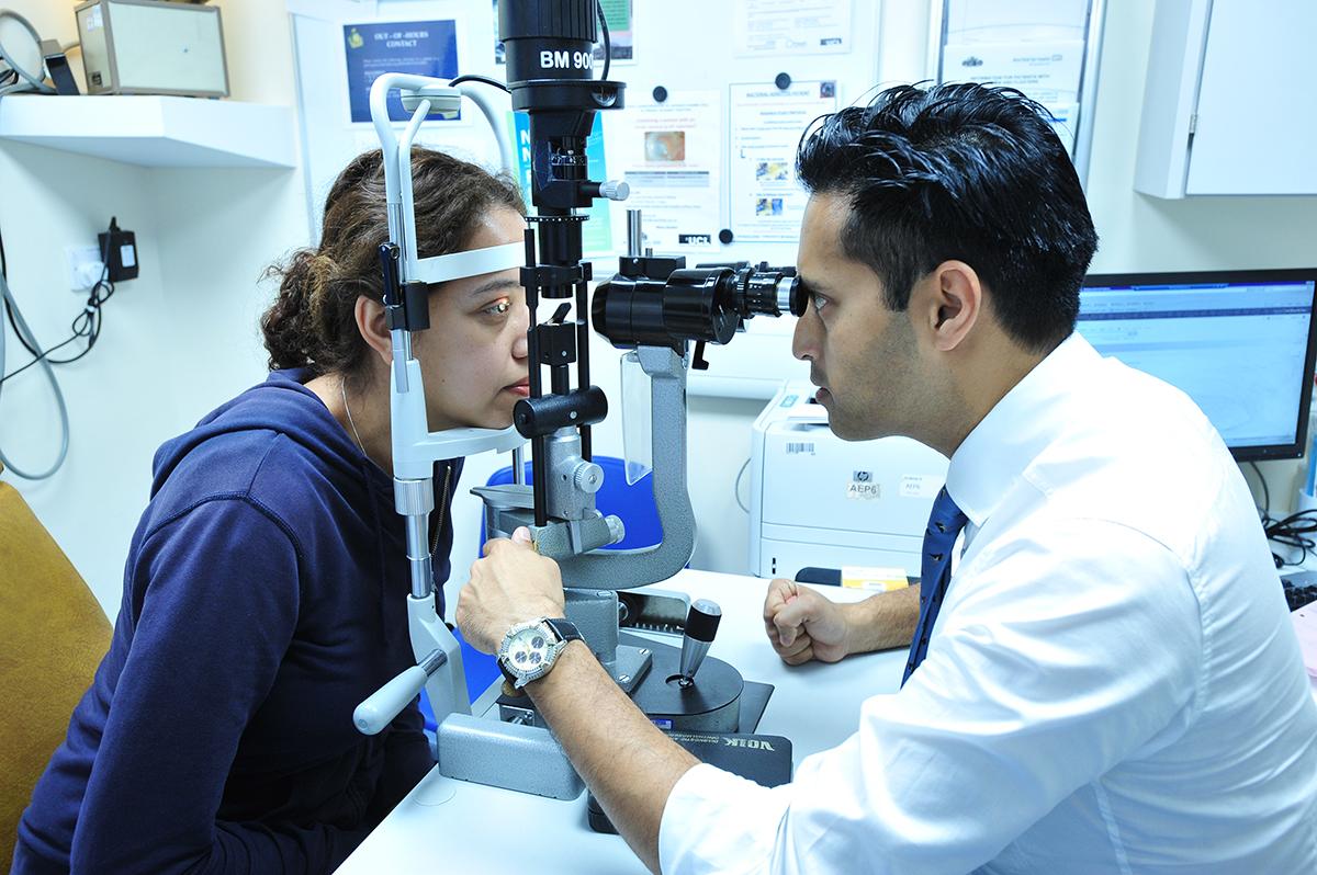 UK Ophthalmology Alliance Member at Work